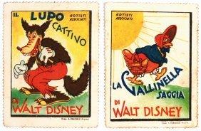 Figurine Artisti Associati: Il Lupo Cattivo Di Walt