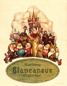 Walt Disney Biancaneve E I Sette Nani