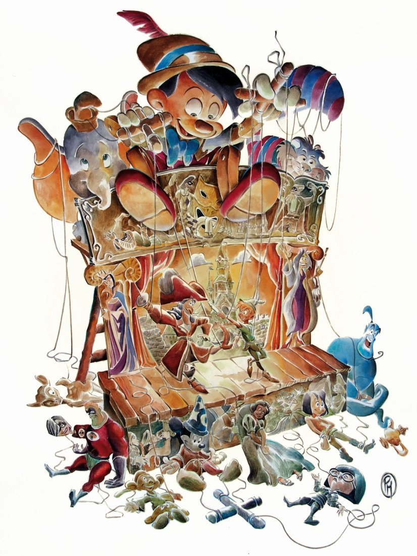 PAOLO MOTTURA Le Grandi Fiabe di Walt Disney
