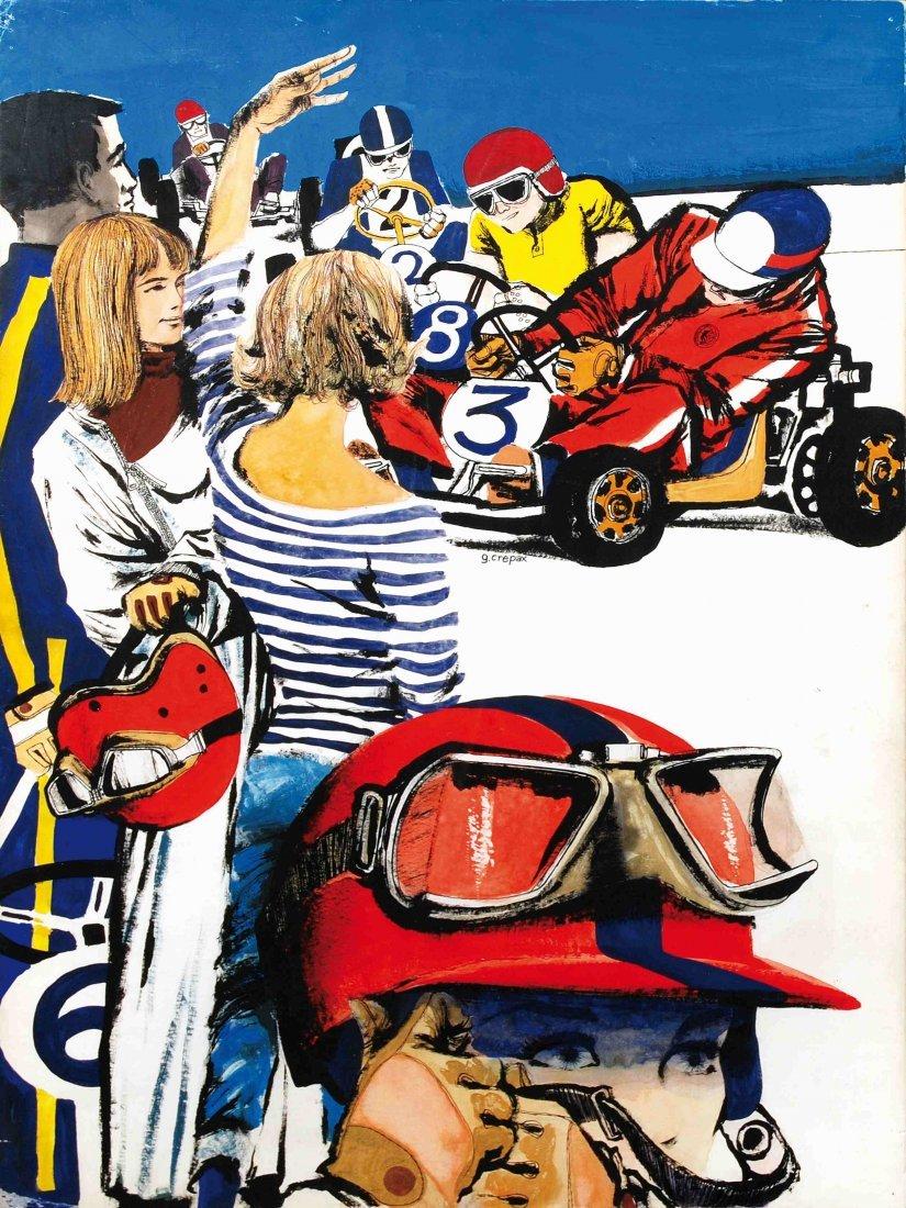 Guido Crepax Valentina e i Go-Kart