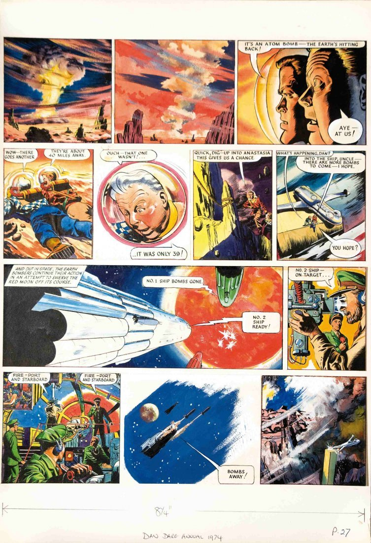 Frank Hampson Dan Dare The Red Moon Mistery