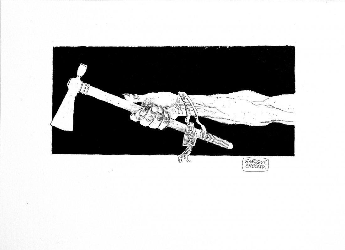Enrique Breccia Tex - Scure di Guerra