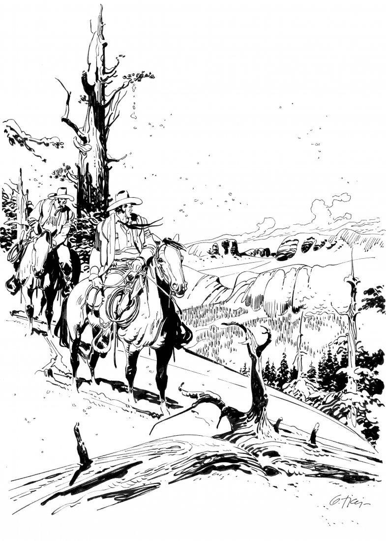 Giovanni Ticci Tex - Nelle immensità gelate dei monti