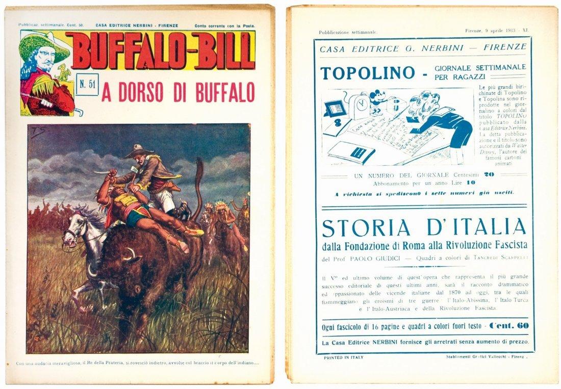 Buffalo Bill, Gli Eroi della Prateria