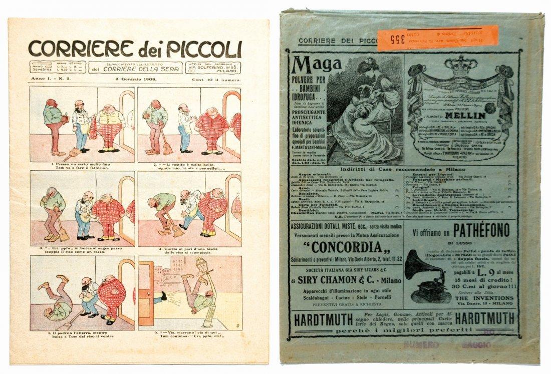 Corriere dei Piccoli, anno I n.2