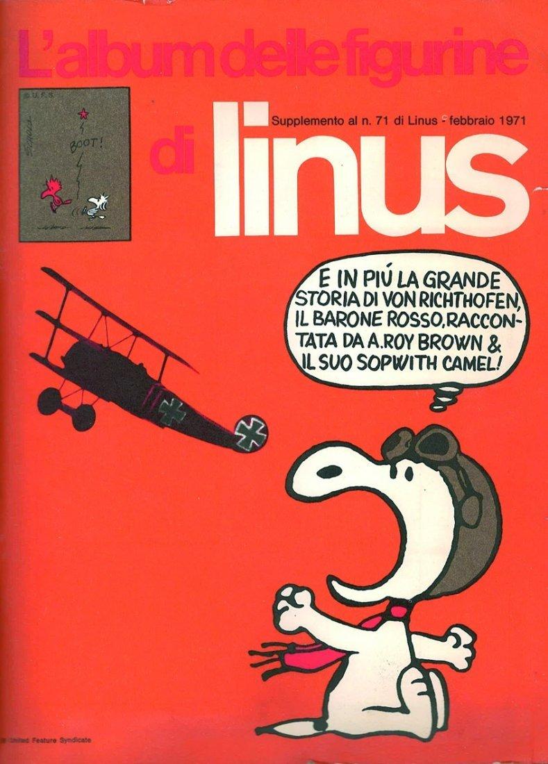 L'album delle figurine di Linus