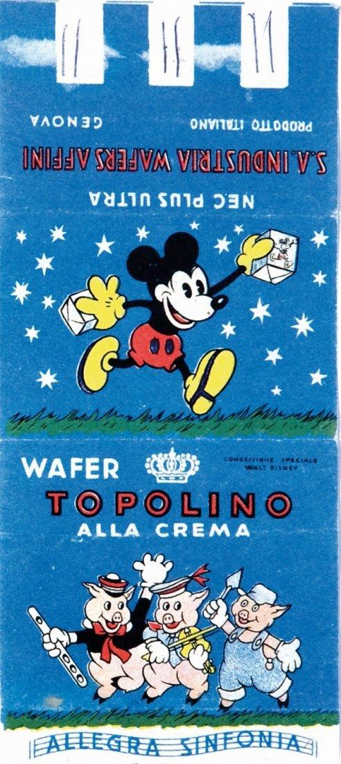 Incarto wafer di Topolino