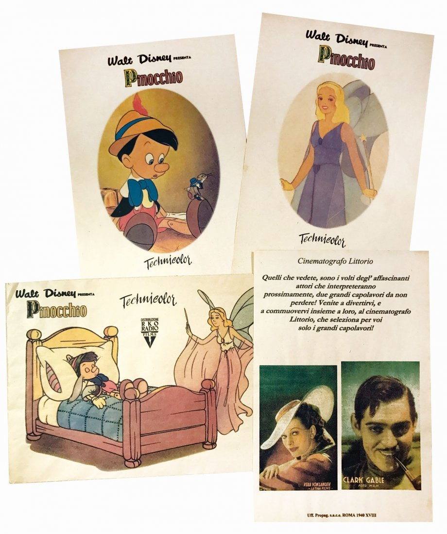 Walt Disney presenta Pinocchio in Technicolor