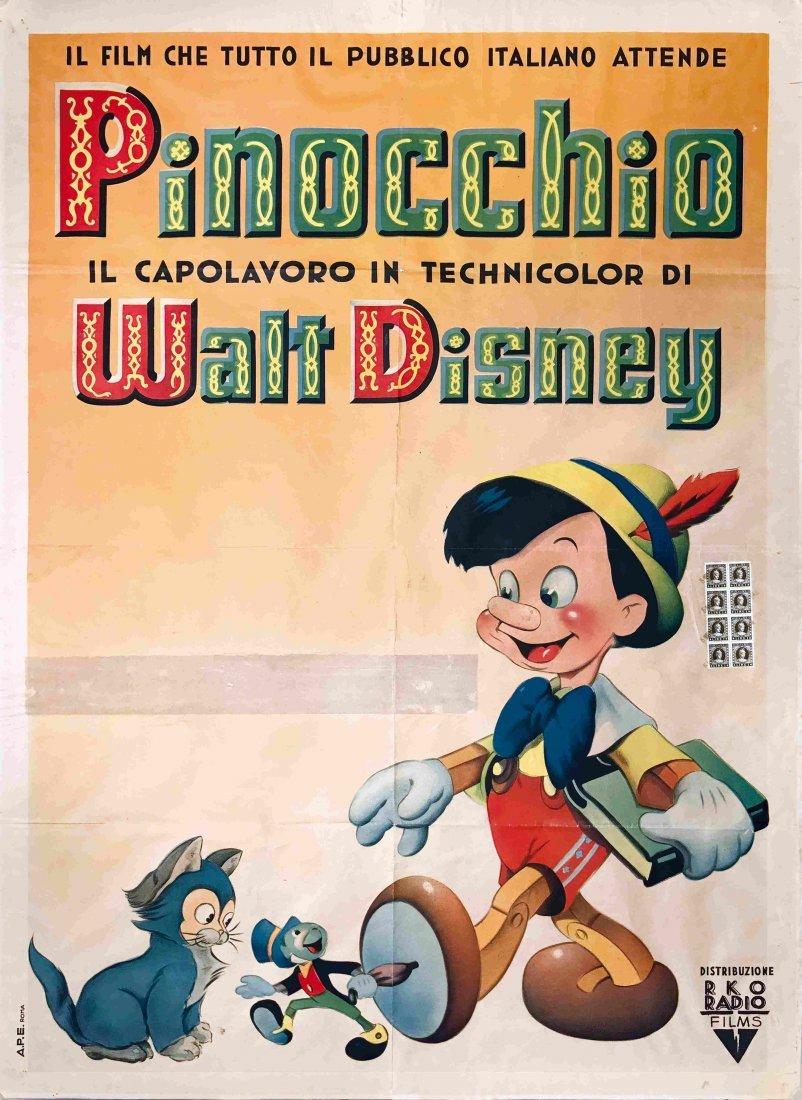 Pinocchio Il Capolavoro in Techincolor di Walt Disney