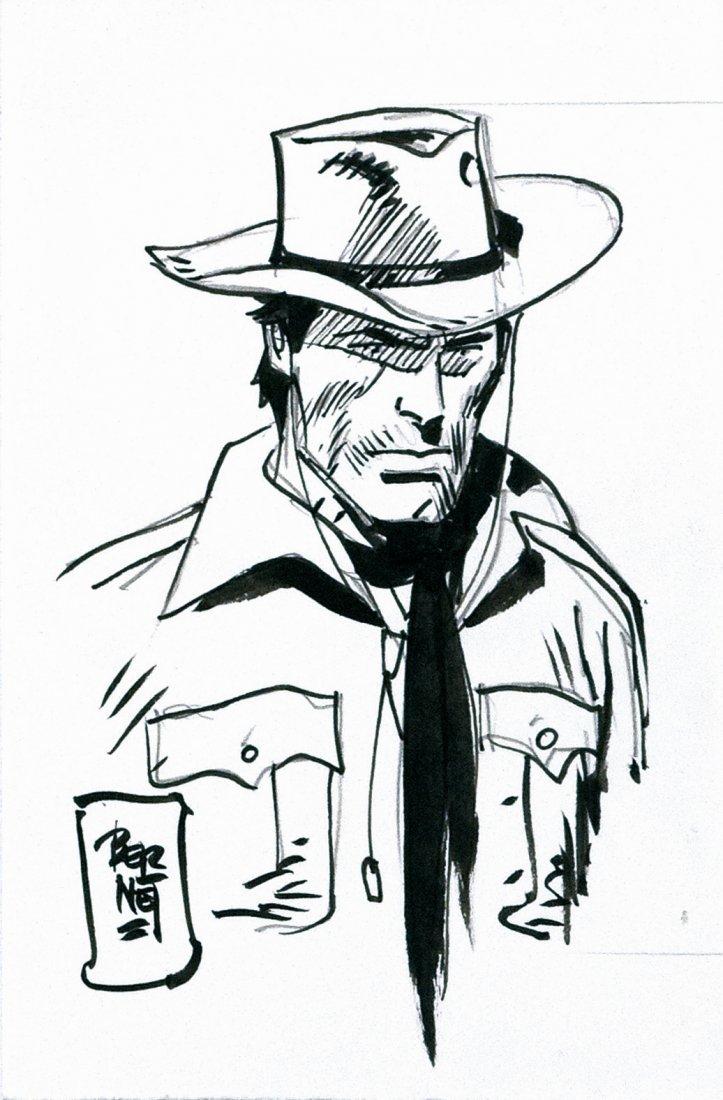 Jordi Bernet Tex - Ritratto del Ranger