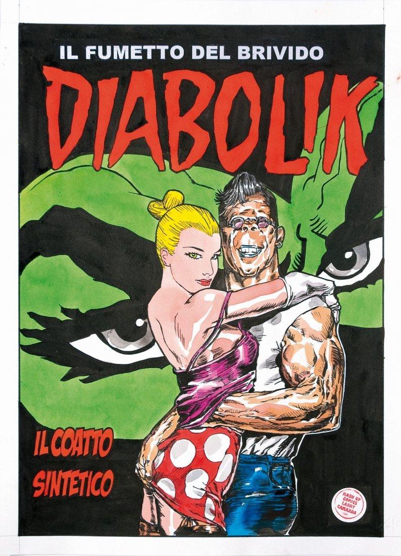 Larry Camarda Mash-up Comics Diabolik - Il Coatto