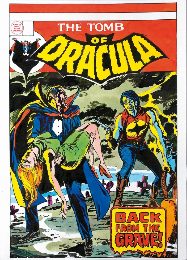 Larry Camarda Mash-up Comics The Tomb of Dracula Zagor