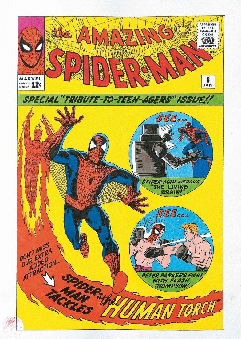 Larry Camarda The Amazing Spiderman #8