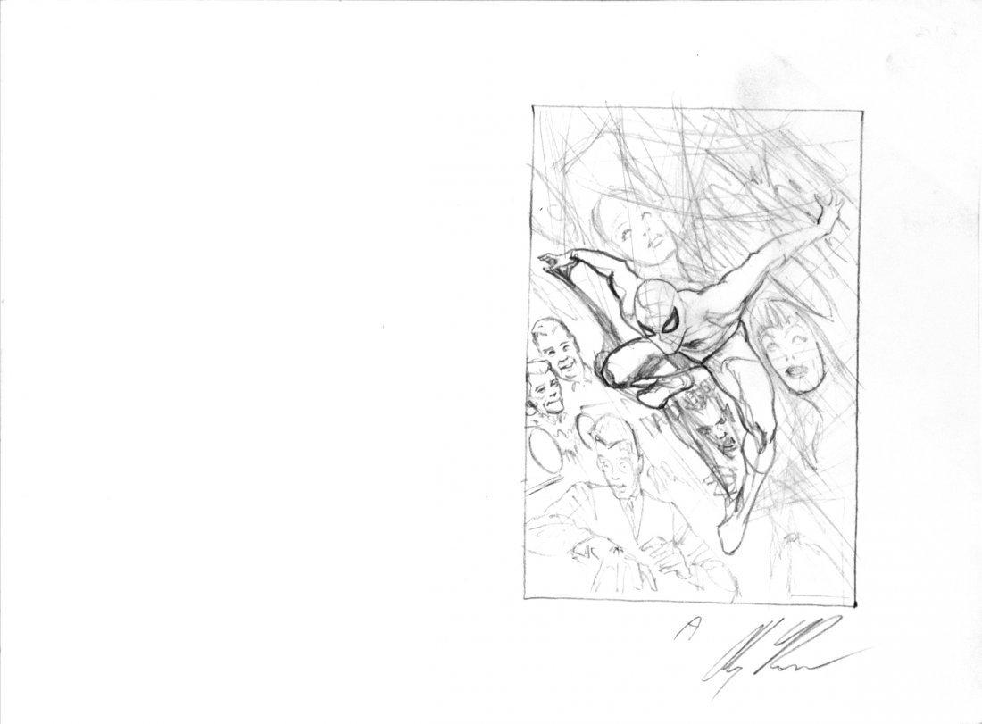 Alex Ross Amazing Spider-Man 75th Anniversary Variant