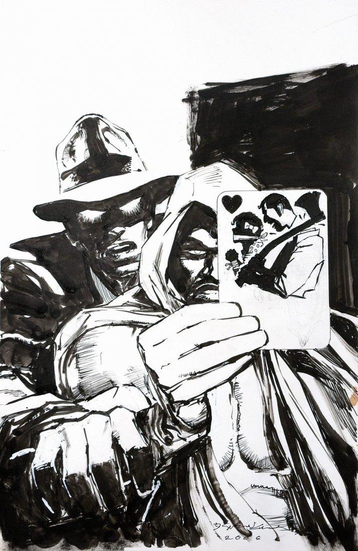 Bill Sienkiewicz Phantom Stranger & Spectre - Tales of