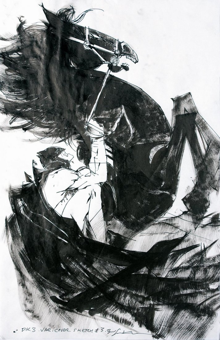 Bill Sienkiewicz Batman Dark Knight: The Master Race