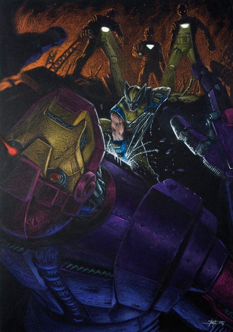Luca Strati Wolverine vs Sentinels