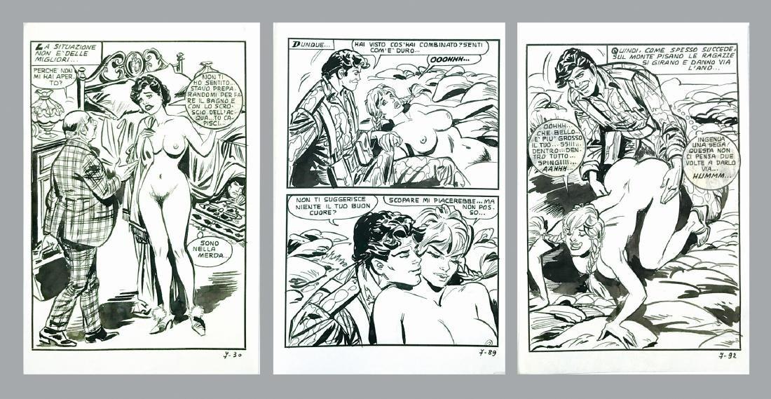 Eugenio Berni Fumetti Folk: Oh mio bel Parà,