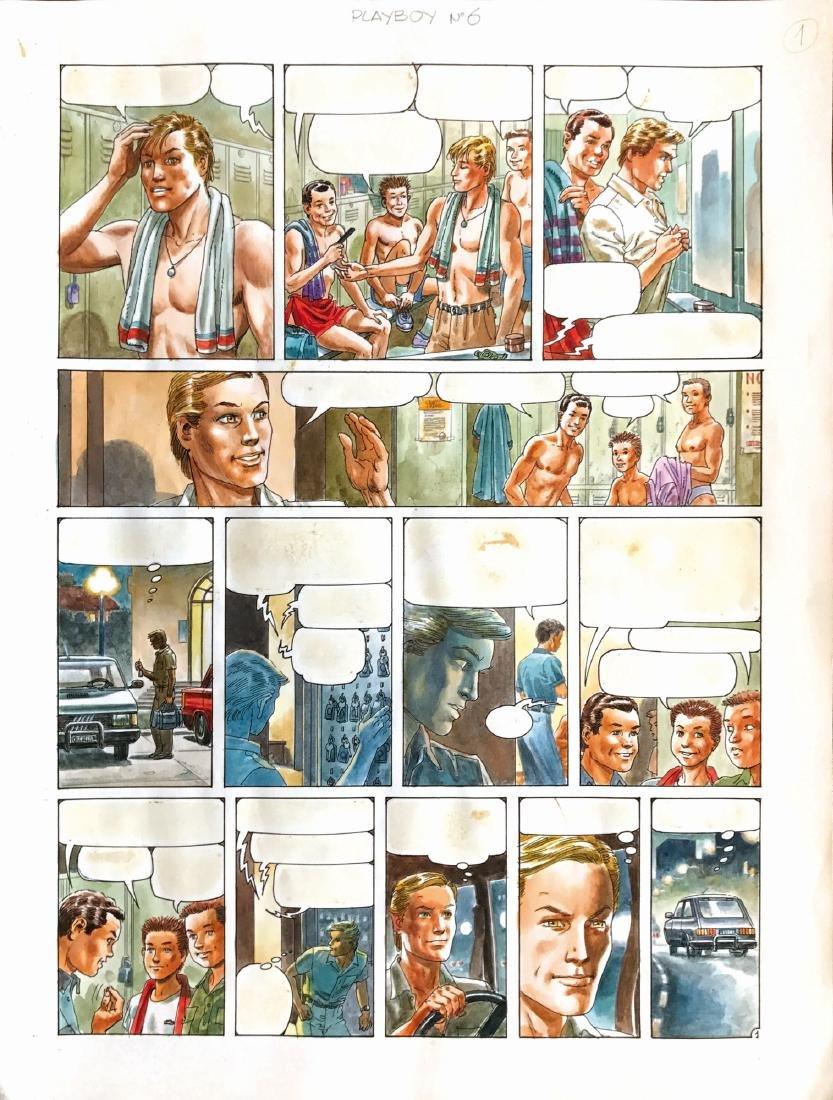 Juan Zanotto Storia breve per Playboy