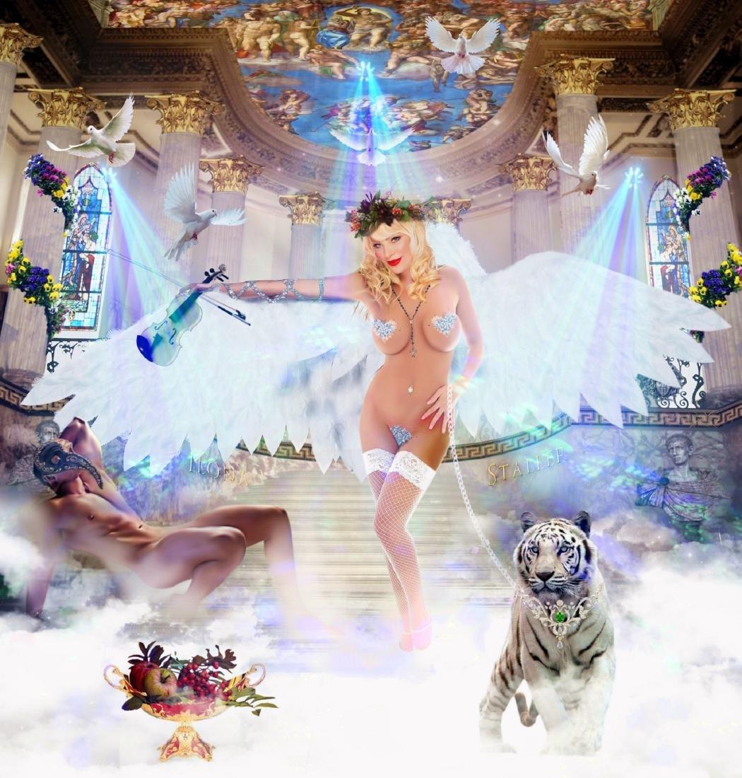 Ilona Staller White Angel