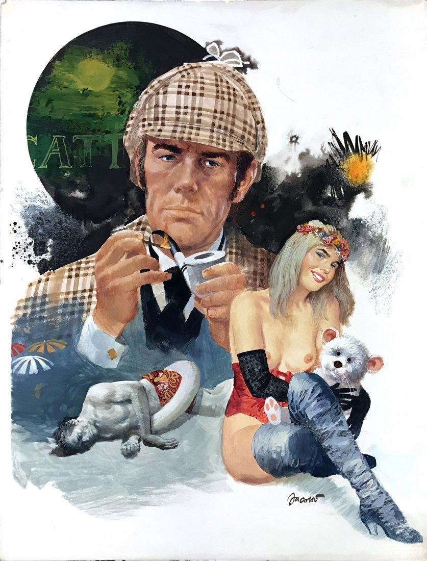 Carlo Jacono: Sherlock Holmes e Cicciolina