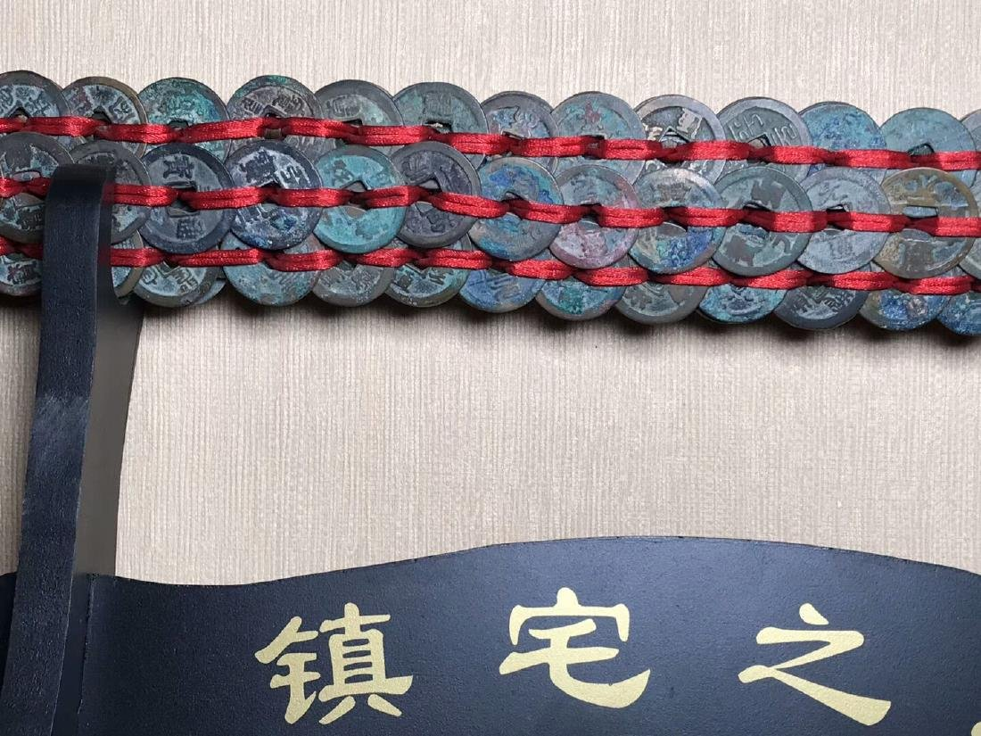 One Song Dynasty Bronze Coins Sword - 6