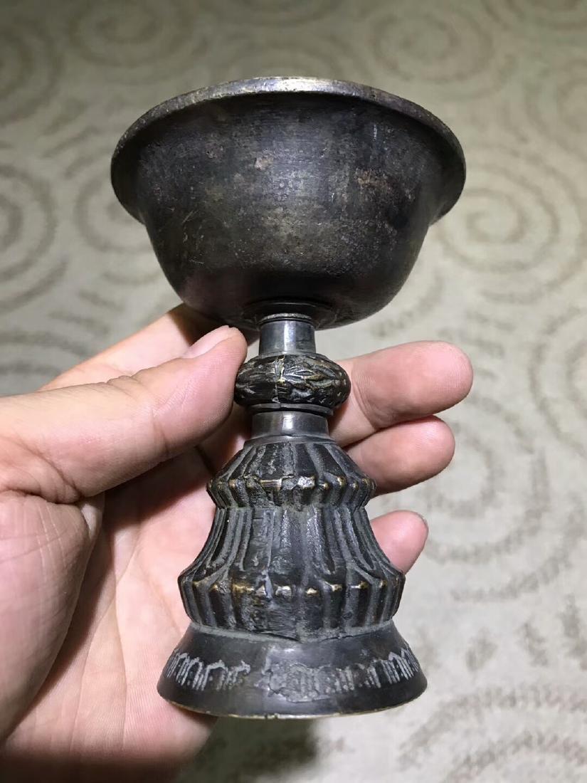 Tibetan Vajry Pestal Oil Lamp - 2