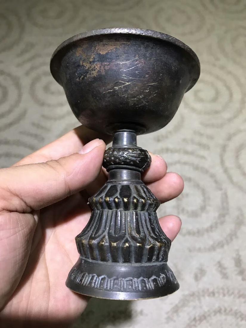 Tibetan Vajry Pestal Oil Lamp - 3