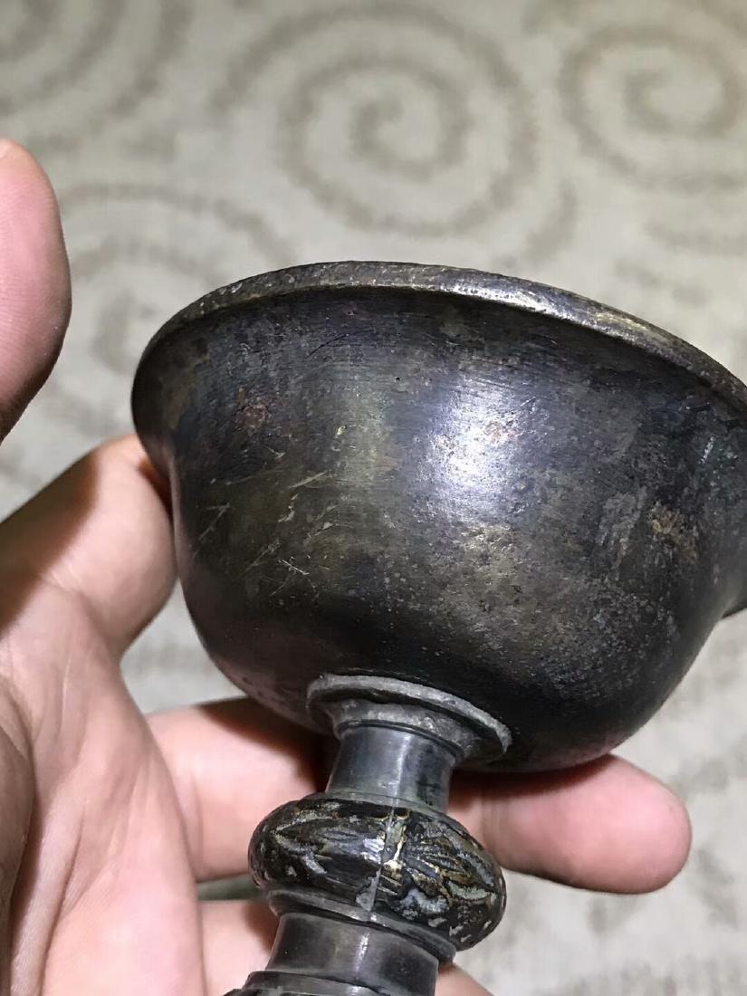 Tibetan Vajry Pestal Oil Lamp - 6