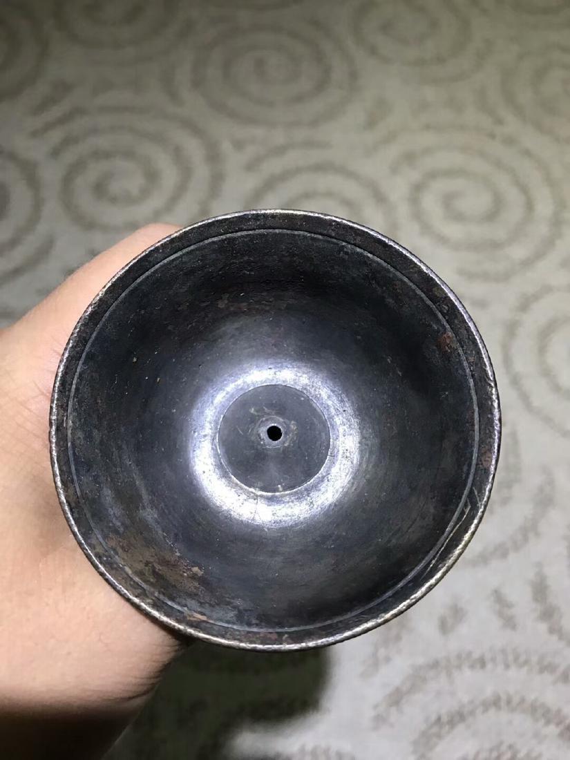 Tibetan Vajry Pestal Oil Lamp - 8
