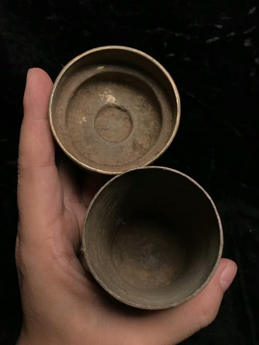 Qing Tibetan Buddhist Utensil Box - 8