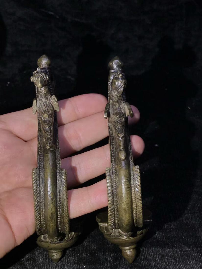 Ming Alloy Copper Atirrup - 6