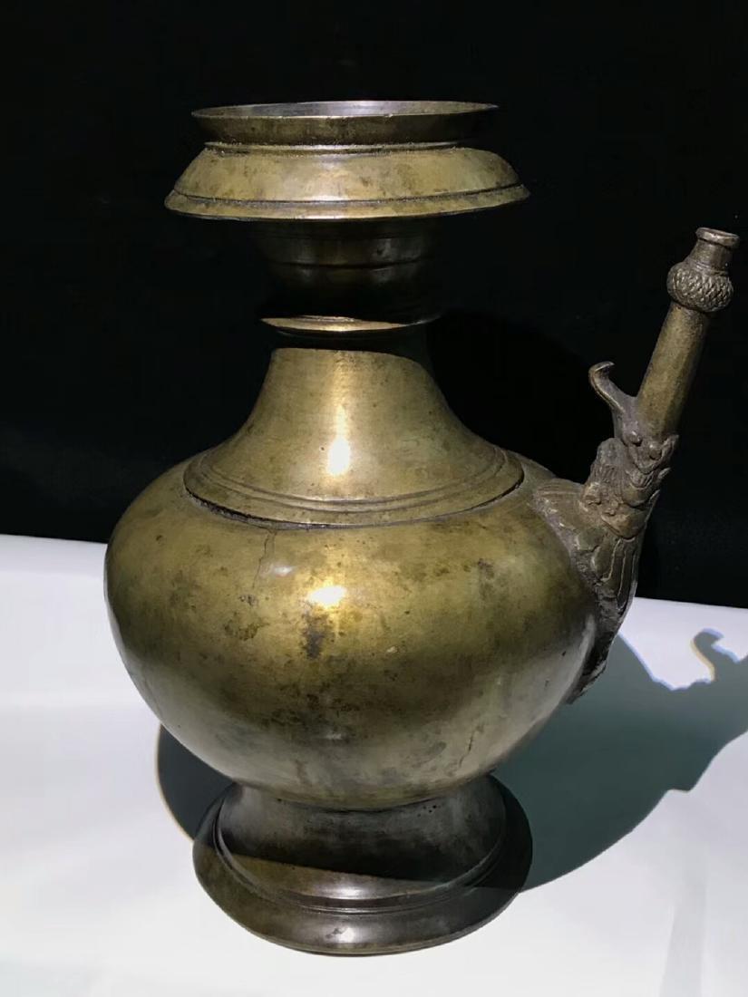 15th Century Museum Same Shape Alloy Copper Dragon