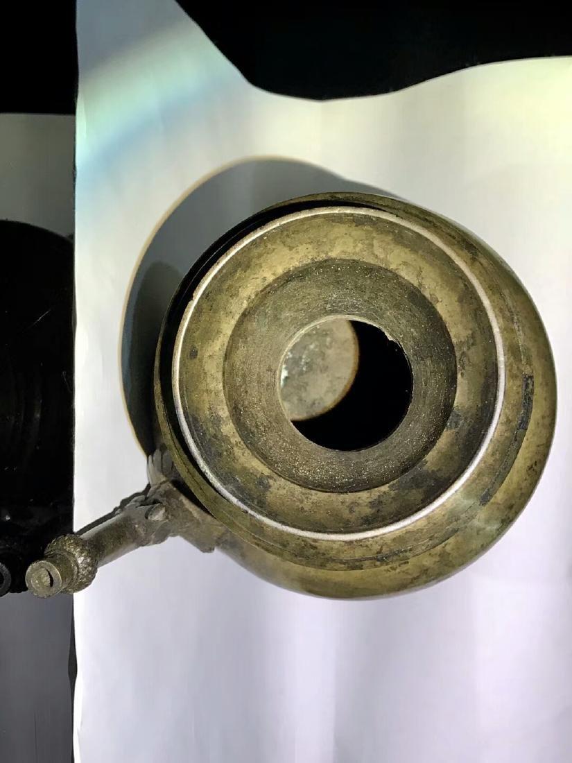 15th Century Museum Same Shape Alloy Copper Dragon - 7