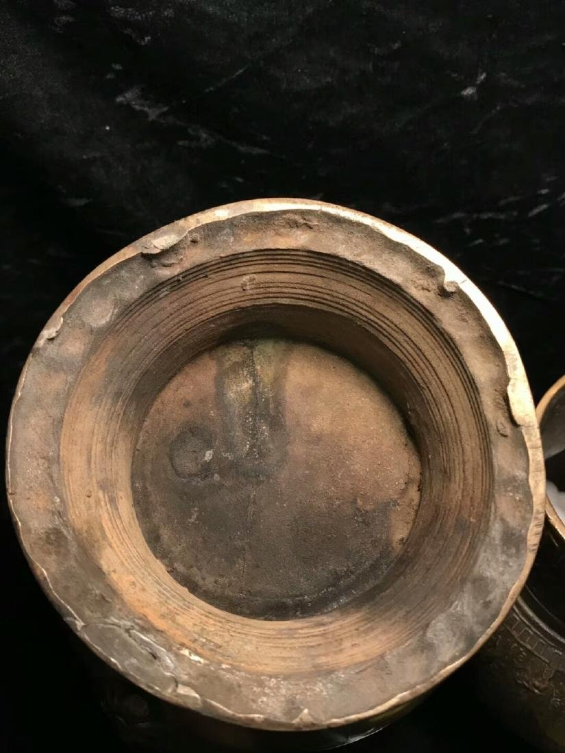 15th Century Museum Same Shape Alloy Copper Dragon - 8