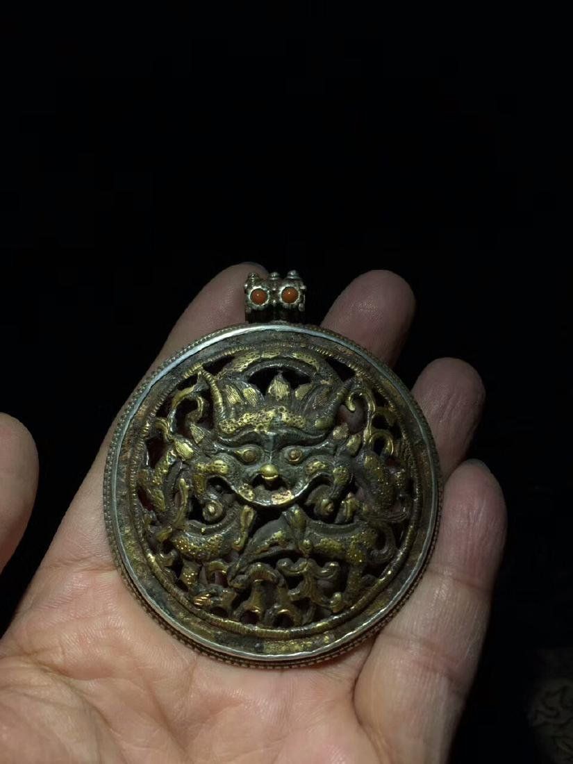 Qing Dynasty Dragon Pendant - 6