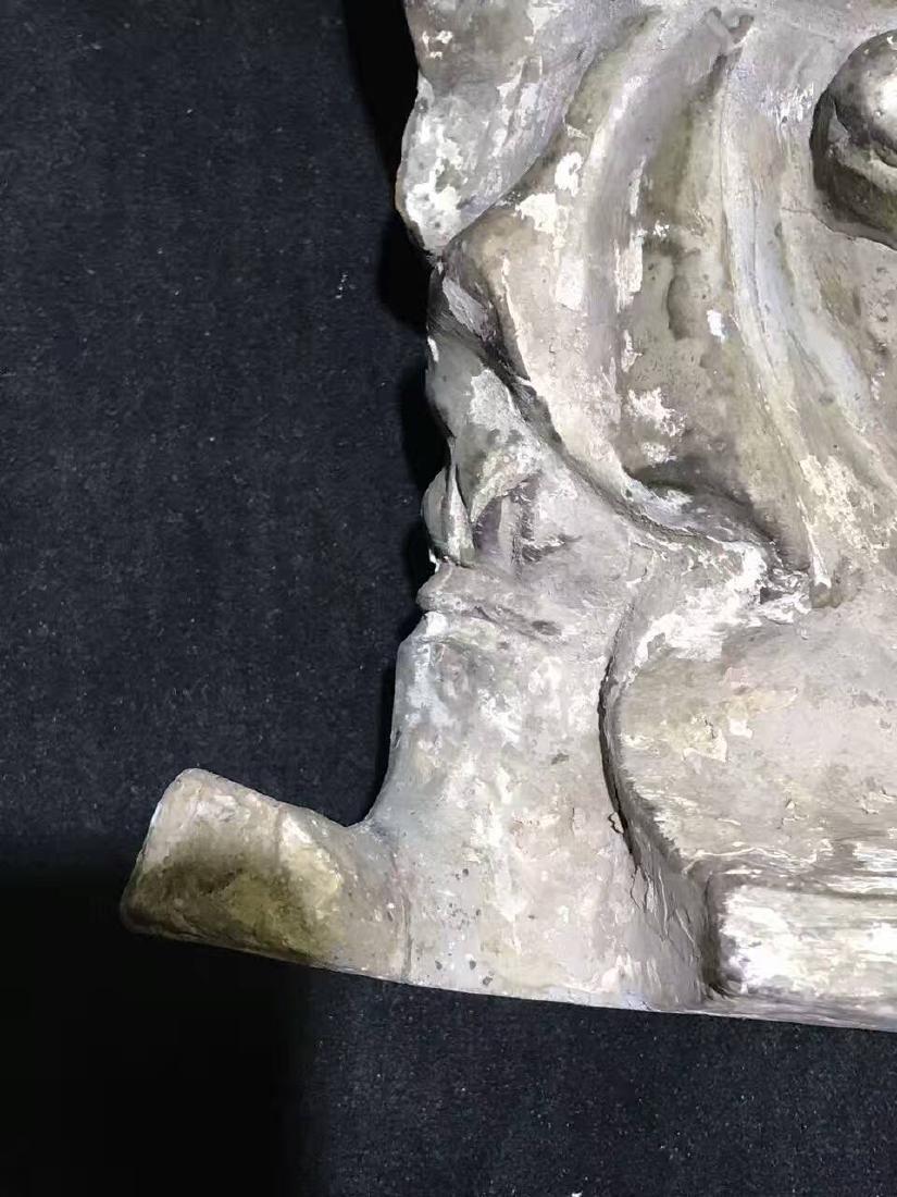 Qing Dynasty Mud Dhammapala - 9