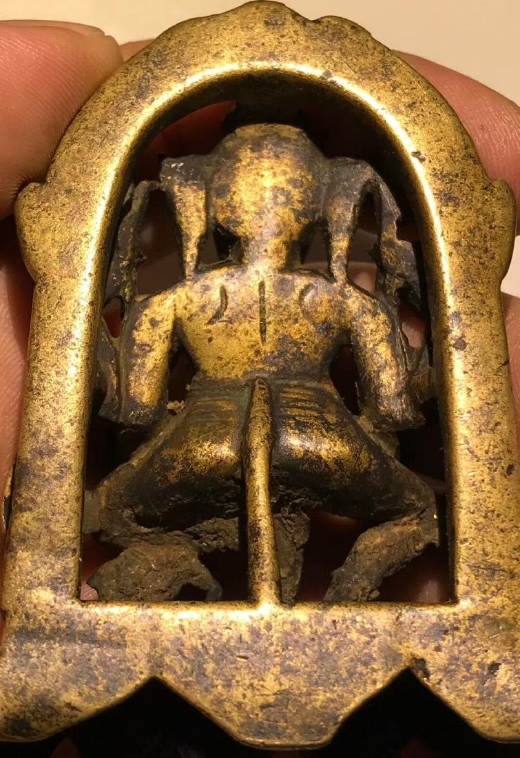 15th Century Tibetan Elephant Nose God of Wealth - 7
