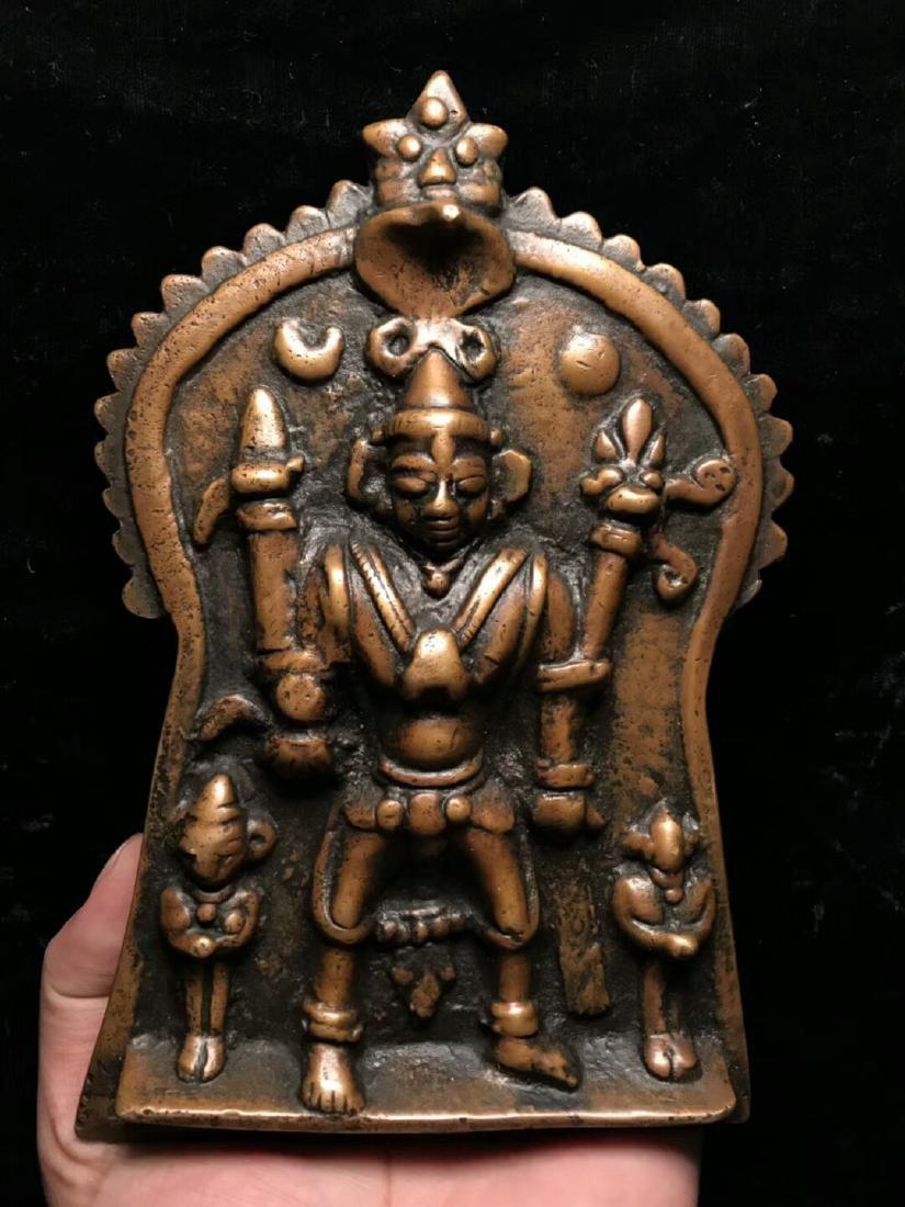 16th Century Kashmiri Style  Vishnu Statue
