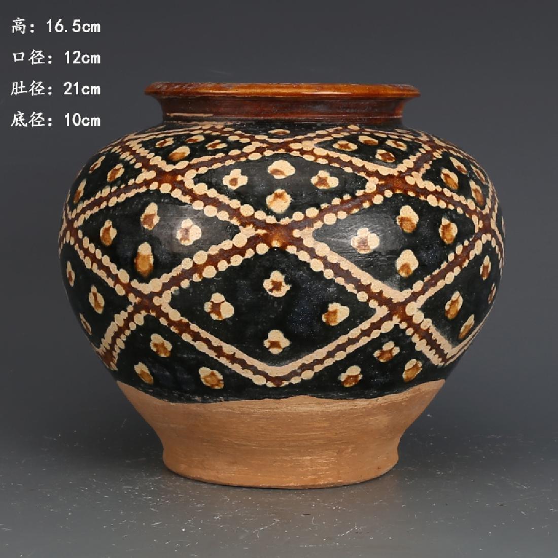 A Beautiful Tangsancai Jar