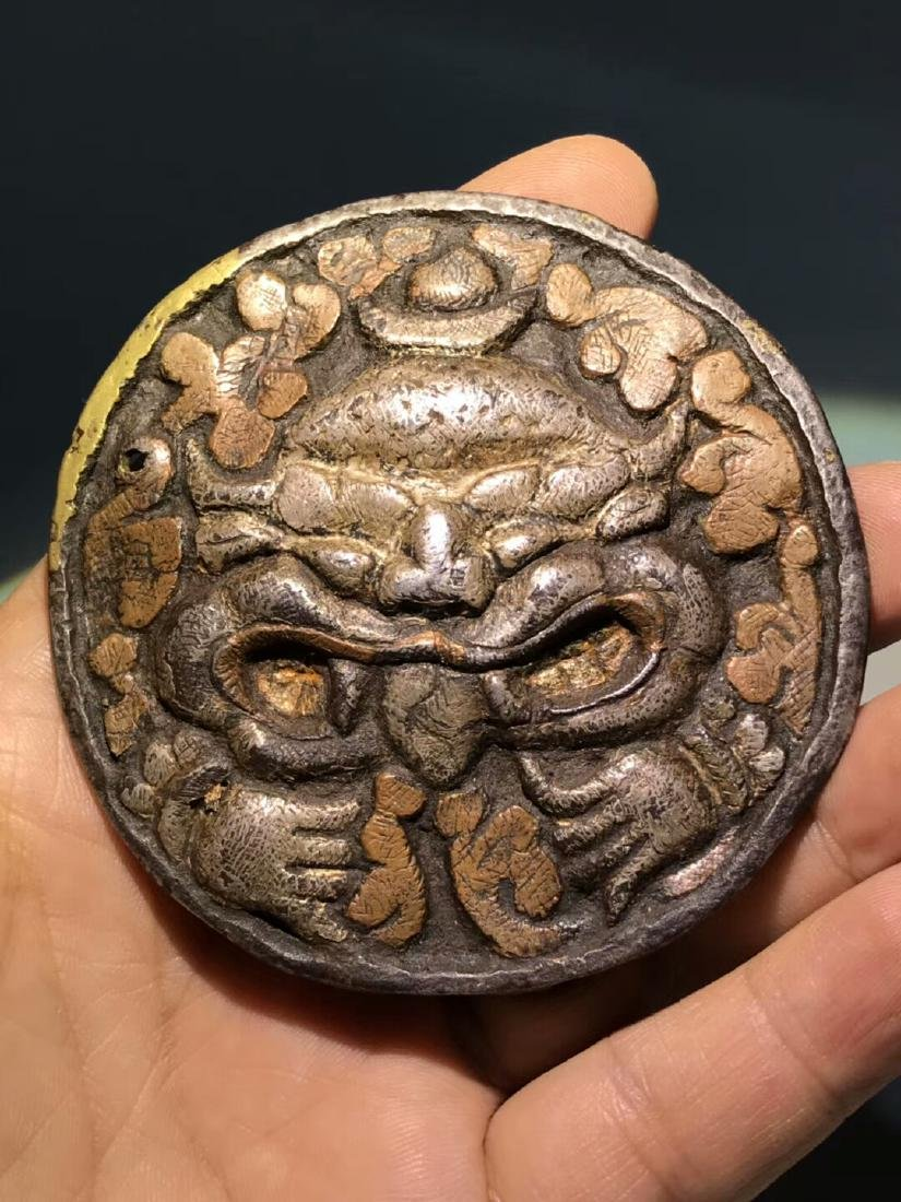 Ming Dynasty Tibetan Wanjin Wanyin Belt Buckle - 2