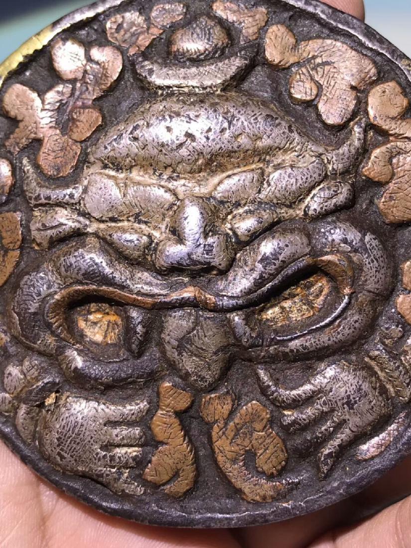 Ming Dynasty Tibetan Wanjin Wanyin Belt Buckle - 3