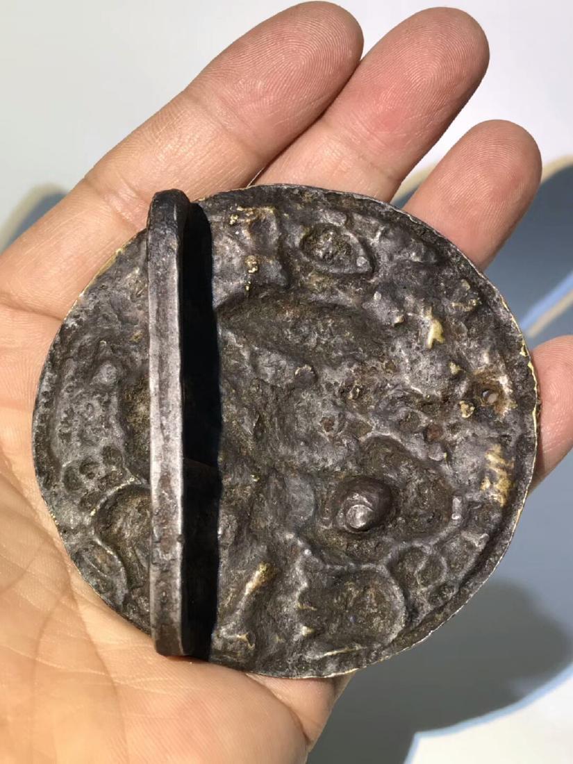 Ming Dynasty Tibetan Wanjin Wanyin Belt Buckle - 6