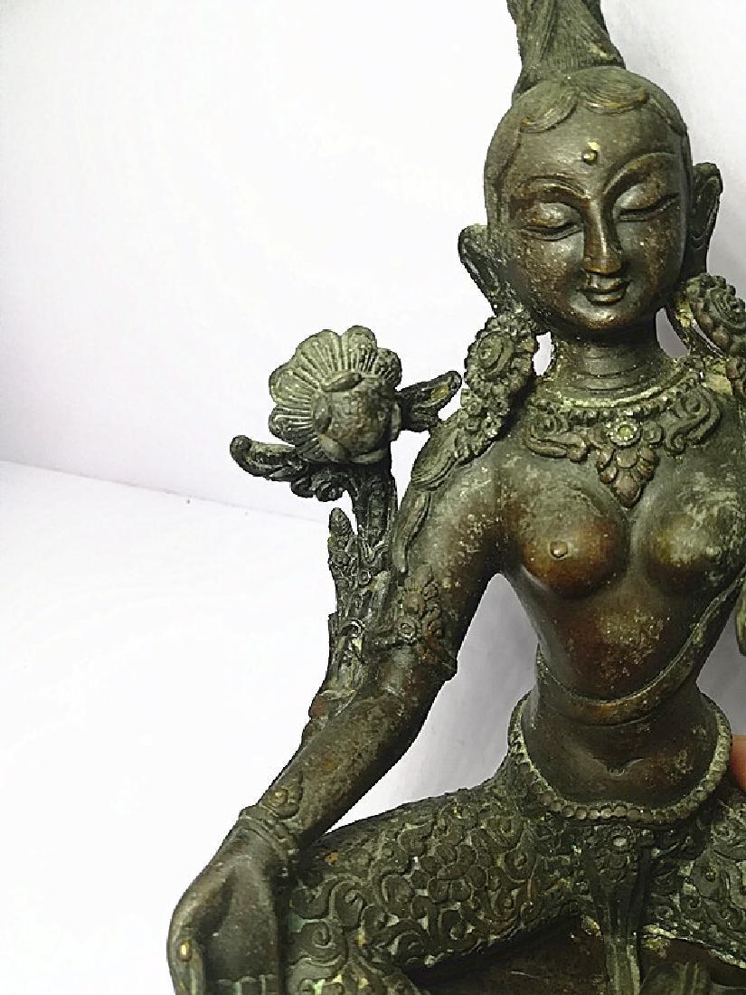 One Beautiful Tibetan Green Tara - 10