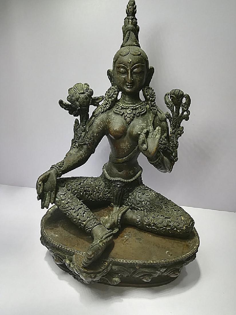 One Beautiful Tibetan Green Tara
