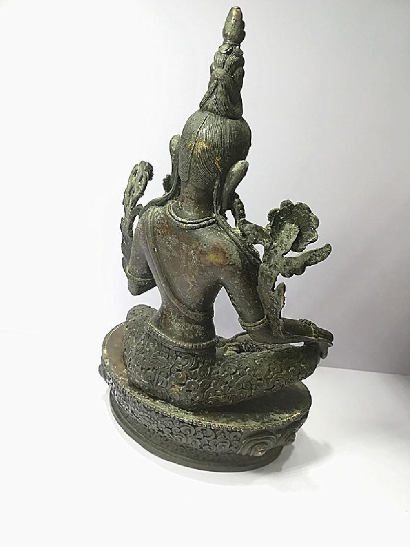 One Beautiful Tibetan Green Tara - 4