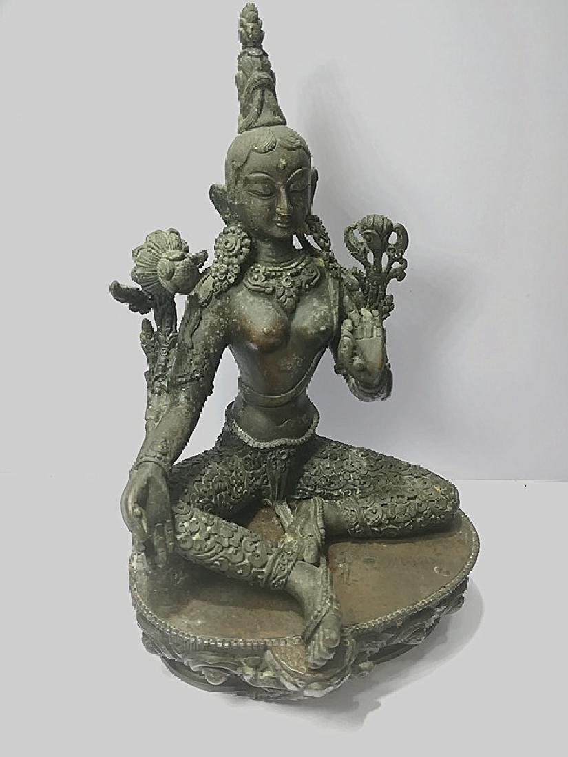 One Beautiful Tibetan Green Tara - 5