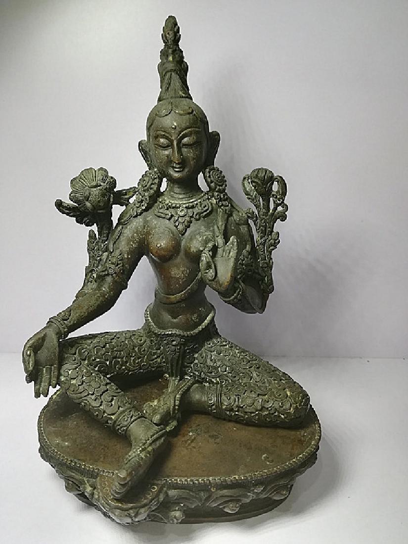 One Beautiful Tibetan Green Tara - 6