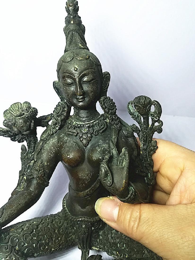 One Beautiful Tibetan Green Tara - 8