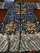 One Antique Five-claw Dragon Boa Gown